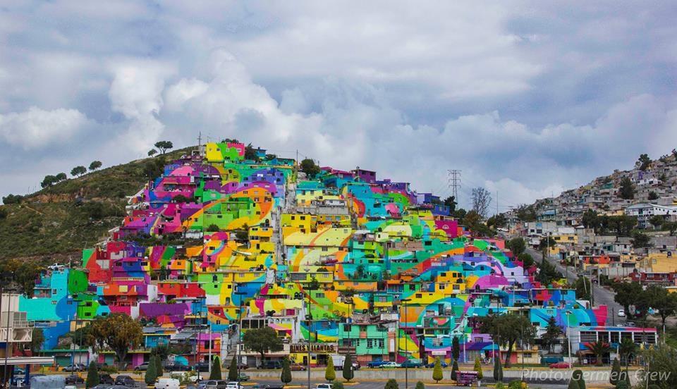 Palmitas peint aux couleurs du Street-Art