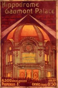 Affiche Hippodrome Gaumont Palace