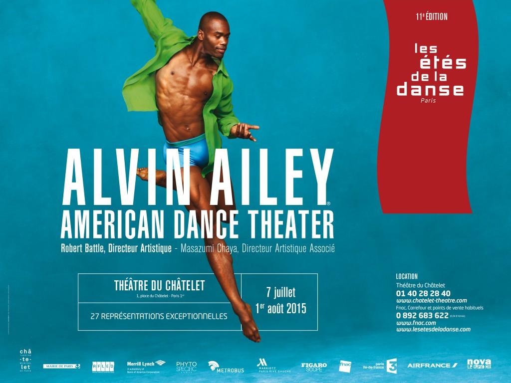 Première soirée avec la compagnie Alvin Ailey
