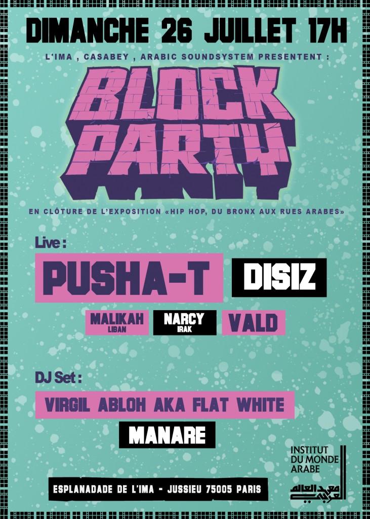 Une block party pour clôturer l'exposition «Hip-Hop, du Bronx aux rues arabes»