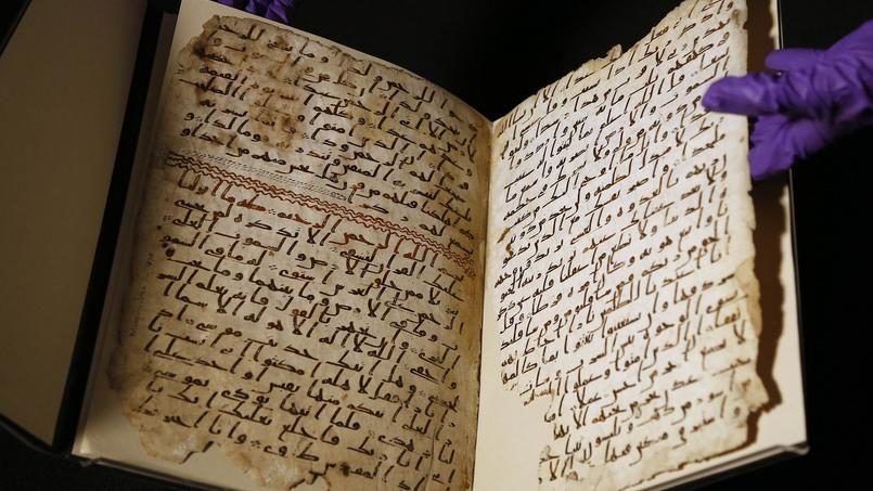 Des fragments du Coran datant de 1300 ans trouvés en Angleterre