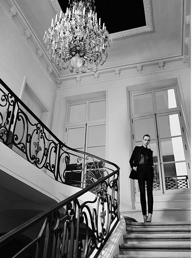 Retour à la couture pour Yves Saint Laurent