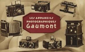Les appareils cinématographiques Gaumont