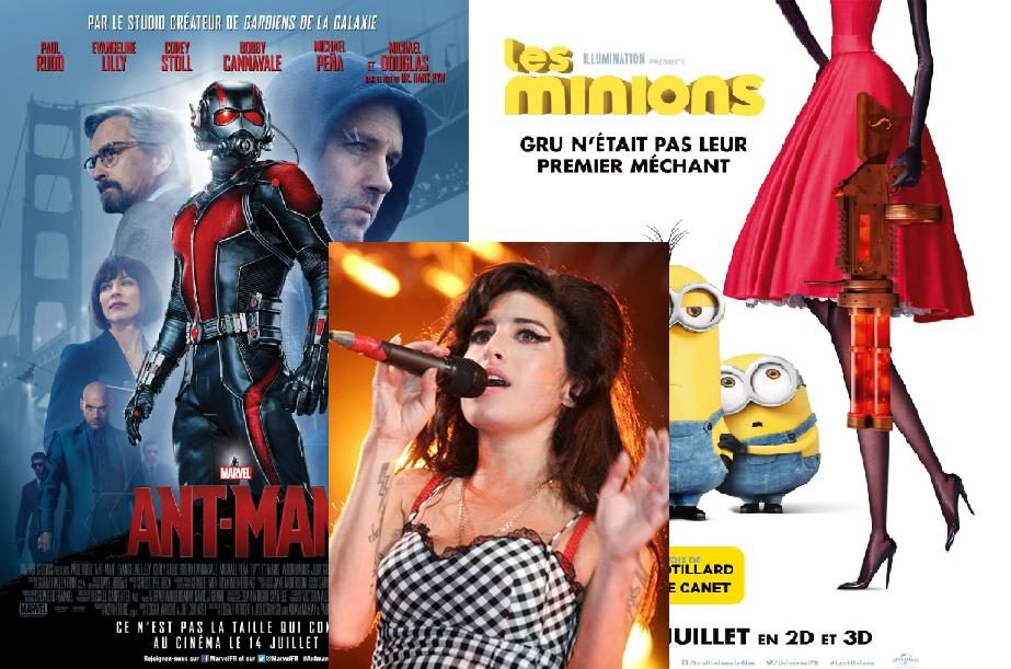 Box-office France semaine : 2 millions d'entrées pour les Minions, bide de Magic Mike XXL, succès surprise du documentaire Amy