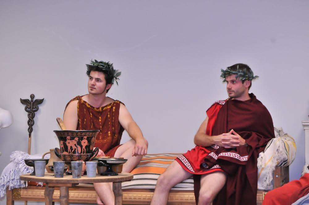 Les 7 et 8 août 2015 le Musée du Pays Châtillonnais vous plonge chez les Grecs anciens