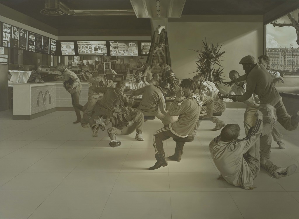 [Festival d'Avignon] Guillaume Bresson, peint sur le vif