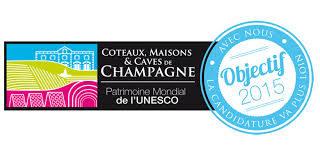 Coteaux, Maison et Caves de Champagne au patrimoine mondiale de l'UNESCO
