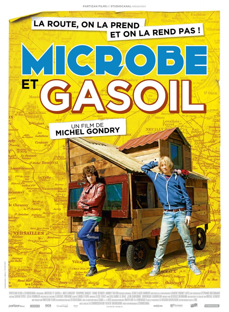 [Critique] « Microbe et Gasoil » de Michel Gondry. Un road-movie adolescent drôle, tendre et décalé