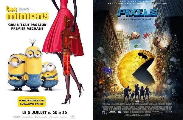 Box-Office France semaine : 307.000 entrées pour Pixels loin devant «Nos Futurs» de Rémi Bezançon avec Pio Marmai
