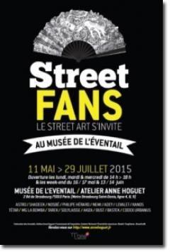 «Street Fans», du street art au Musée de l'éventail