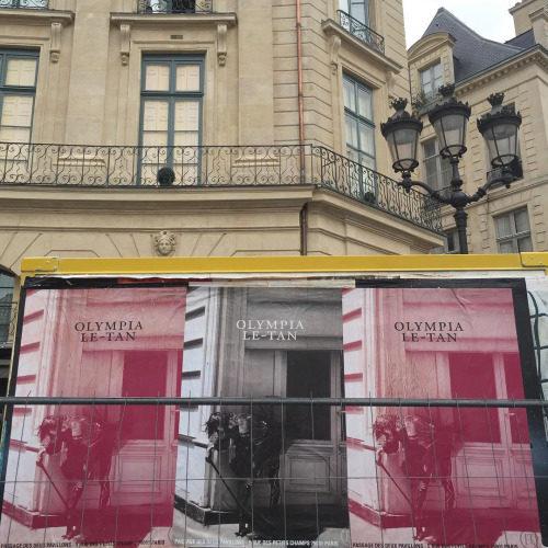 Olympia Le-Tan débarque à Paris