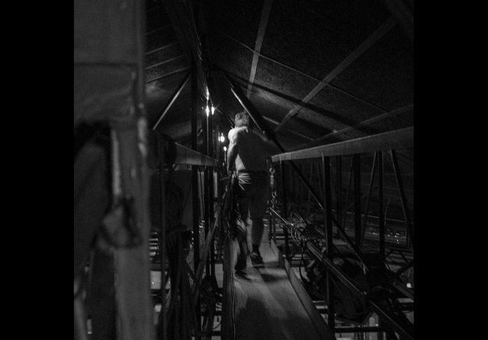 [Festival d'Avignon] Fabrice Sabre illumine les coulisses du spectacle