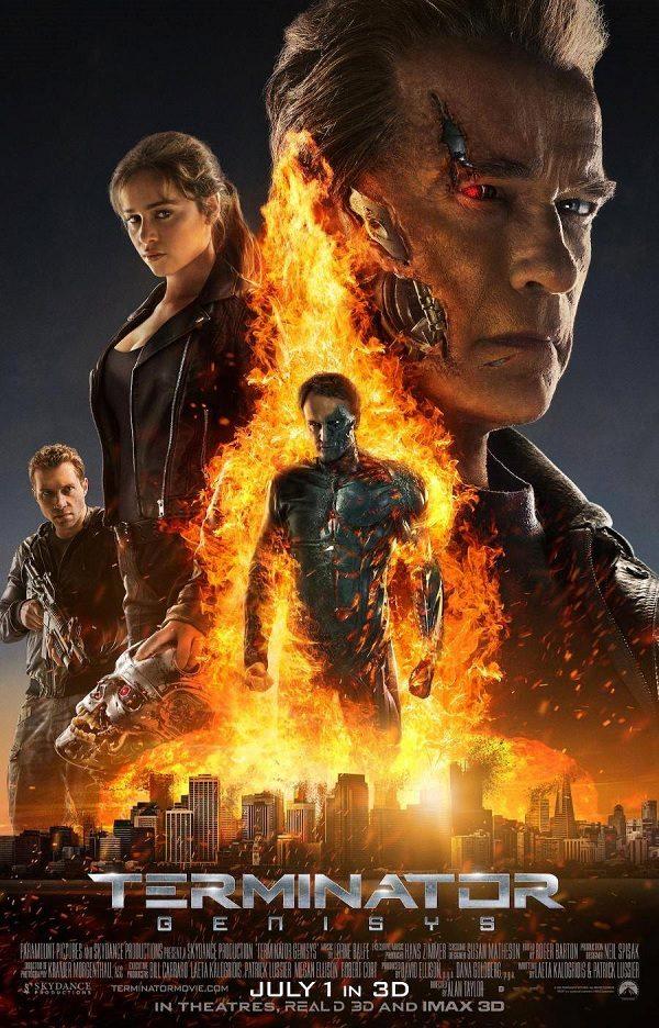 [Critique] «Terminator Genisys » Arnold Schwarzenegger nous amuse dans un épisode confus mais pas désagréable