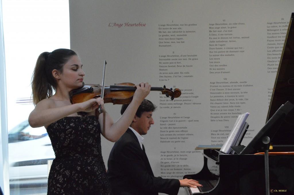 Alexandra Soumm et Ismaël Margain