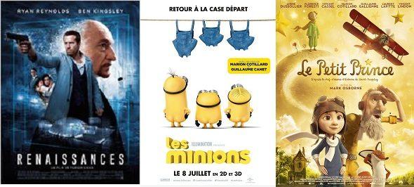 Box-Office France semaine : 640.000 entrées pour «Le Petit Prince» qui réalise un démarrage décevant.
