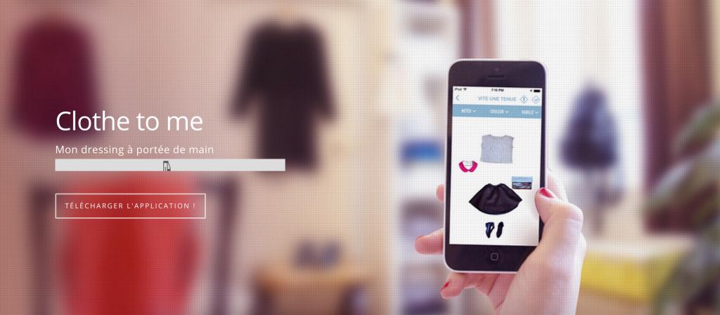 «Clothe to me», l'application qui vous habille