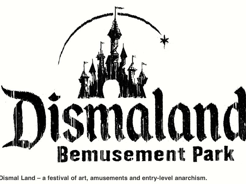 Dismaland : Banksy parodie DisneyLand à Weston-Super-Mare.