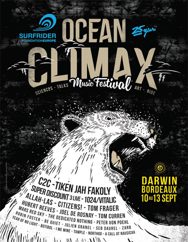 Gagnez 2 pass de 3 jours pour le Festival Ocean Climax
