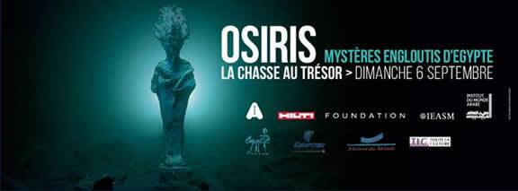 «Osiris : Mystères engloutis d'Egypte» : une chasse au trésor organisée