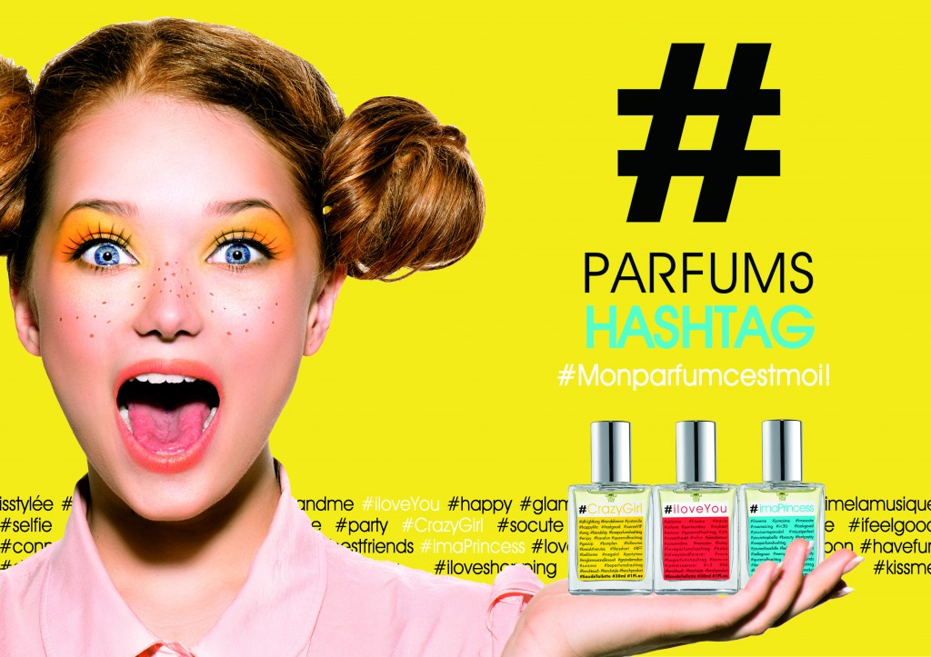 Les parfums Hashtag et Universal Music associent leurs notes pour le plus grand plaisir des girls branchées