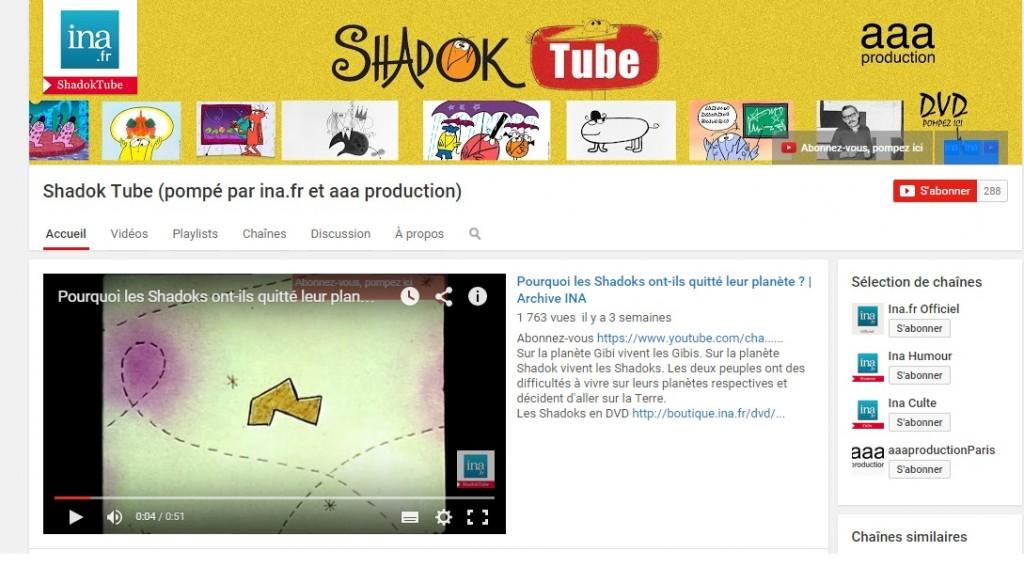 L'INA lance une chaîne Youtube dédiée aux Shadoks