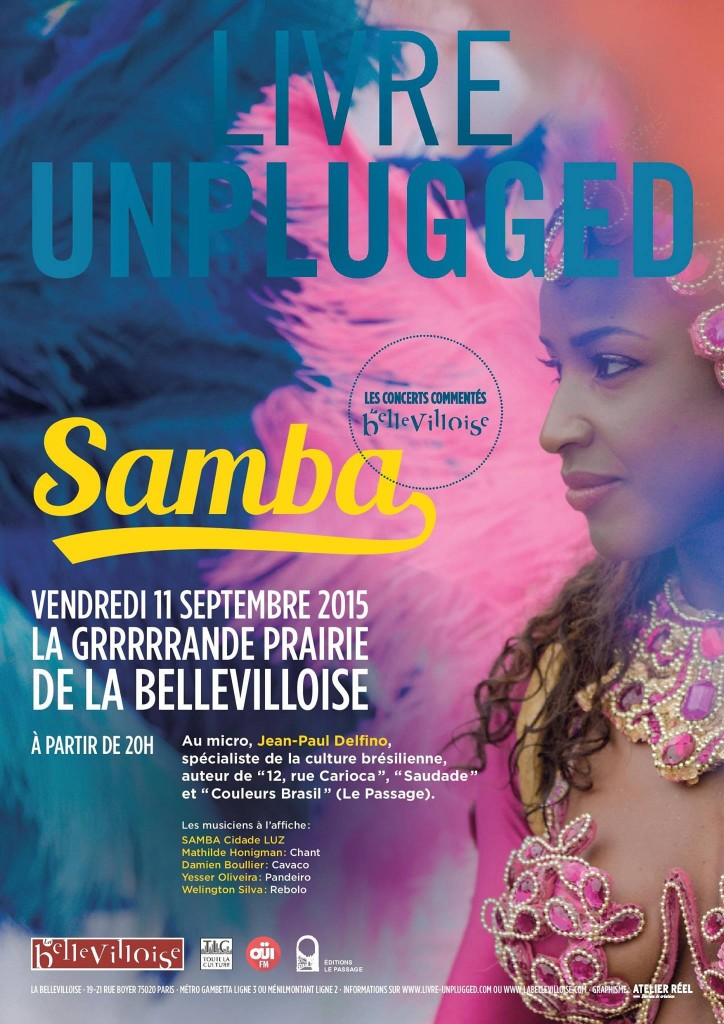 Soirée samba à la Bellevilloise