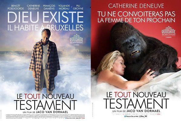 [Critique] « Le Tout Nouveau Testament » Benoit Poelvoorde dans une fable païenne et libre de Jaco Van Dormael