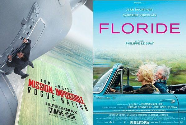 Box-Office : 1.235.000 entrées France semaine pour Mission Impossible 5 Rogue Nation avec Tom Cruise