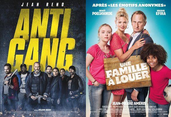 Box-Office France semaine : 300.000 entrées pour «Une Famille à louer» qui devance «Antigang» et «American Ultra»