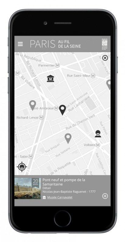 Paris Musées lance une appli pour découvrir la capitale au fil de la Seine