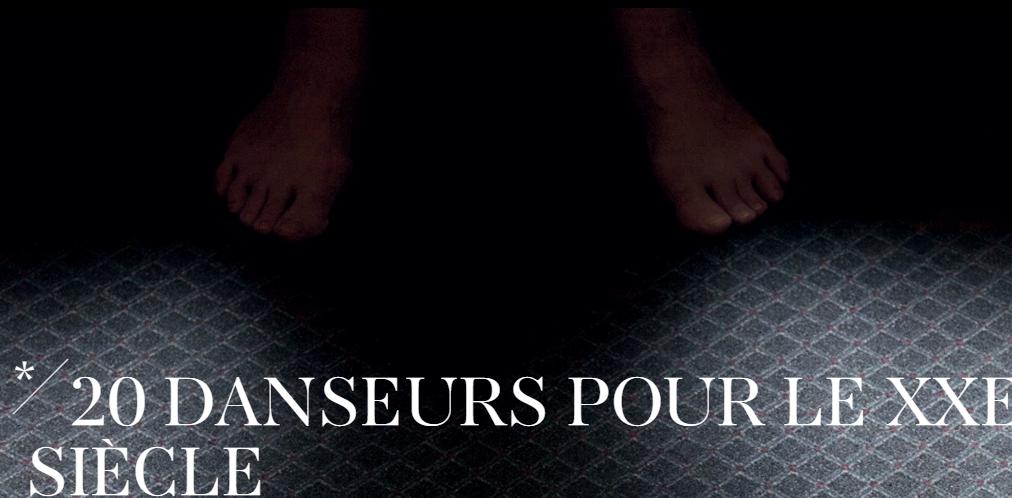 Boris Charmatz, 15 euros pour un vingtième siècle à l'Opéra Garnier