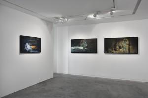 Christine Barbe, Ligne de flottaison, vue d'exposition ©Rebecca Fanuele