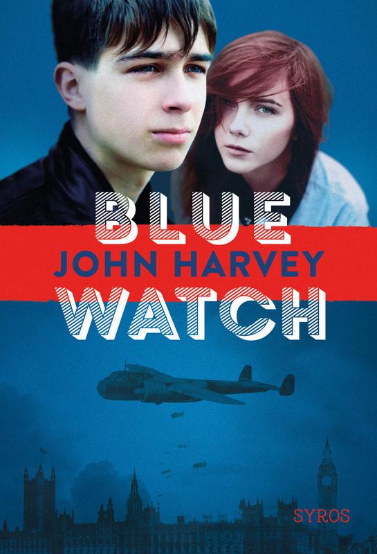 « Blue watch » de John Harvey, vivre dans un pays en guerre quand on a 14 ans…