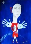 «Redi ad cor » 2015 76 x 56cm