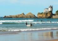 Biarritz Cote des basques surfeurs Villa Belza 005 ©CDT64