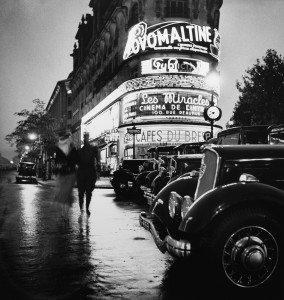 Boulevards - Roger Schall, 1935  Courtesy Galerie Argentic