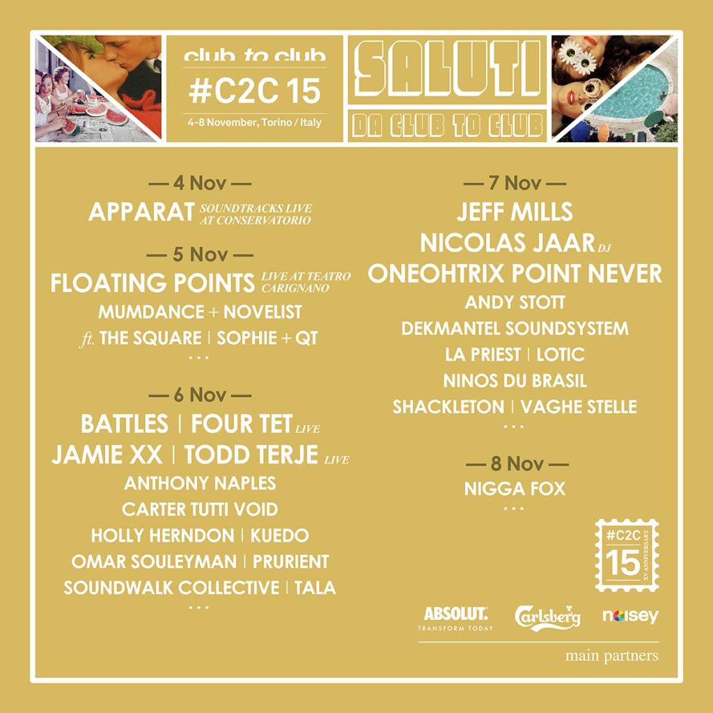 Gagnez 2 golden pass pour le C2C Festival de Turin du 4 au 8 novembre