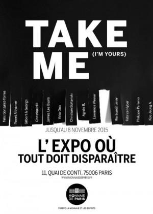 «Take me (i'm yours)», prenez ceci est notre oeuvre