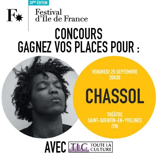 Gagnez 2 x 2 places pour le concert de Chassol au Théâtre de Saint-Quentin-en-Yvelines