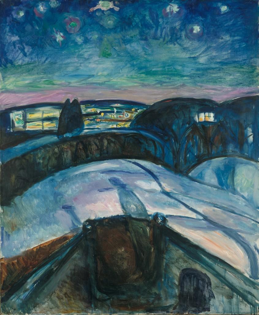 « Munch : Van Gogh » : un accrochage en demi-teinte