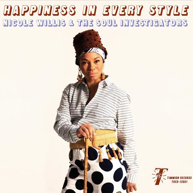 Gagnez 3 exemplaires de « Happiness In Every Style », le dernier album de Nicole Willis & The Soul Investigators