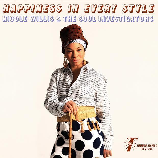 Gagnez 3 exemplaires de « Happiness In Every Style », le dernier album de Nicole Willis & The Soul Investigators