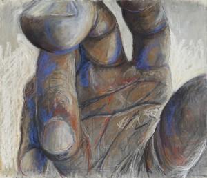 Hypnose - 2014 - Pastel sur papier - 50 x 54 cm - © Galerie Maeght Paris