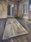 Un pas en avant - 2014 - Huile sur toile - 248 x 198 cm - © Galerie Maeght Paris