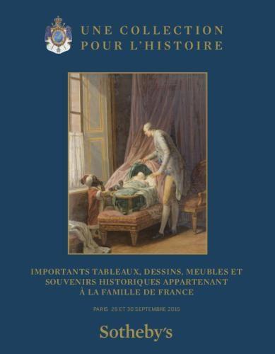 Les biens de la famille d'Orléans exposés chez Sotheby's