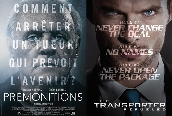 Box-Office France :  330000 entrées pour Prémonitions, Anthony Hopkins écrase Transporter l'Héritage