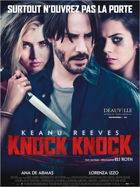 [Critique] «Knock Knock» d'Eli Roth : un thriller décevant avec Keanu Reeves