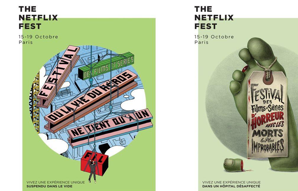 Netflix lance son premier festival parisien