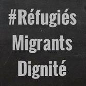 «Pas en notre nom» : rassemblement de soutien aux migrants et aux réfugiés à Paris place du Trocadéro