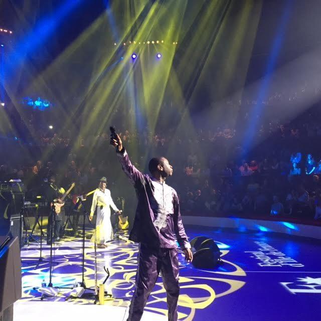 [Live-report] Youssou N'Dour, tambours, saxophone et avenir au Cirque d'Hiver (26/09/2015)